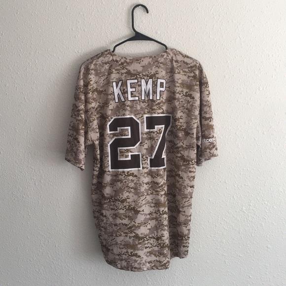 63353179980 Padres Camo Matt Kemp Baseball Jersey  27. M 5af4dac32ab8c5bad745bd3c